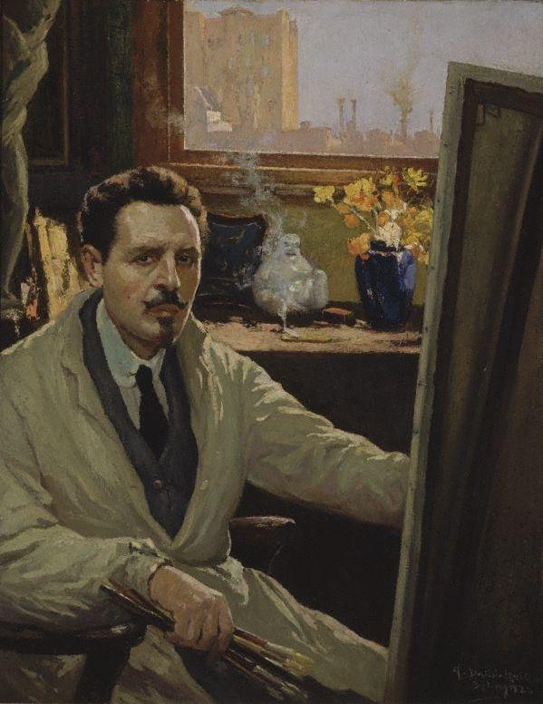 Antonio Dattilo-Rubbo 'Self portrait' 1924 finalist