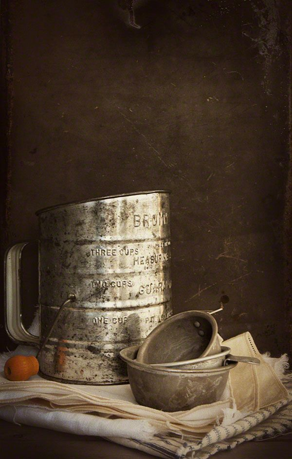 Food Blogging Trends: Antique Props