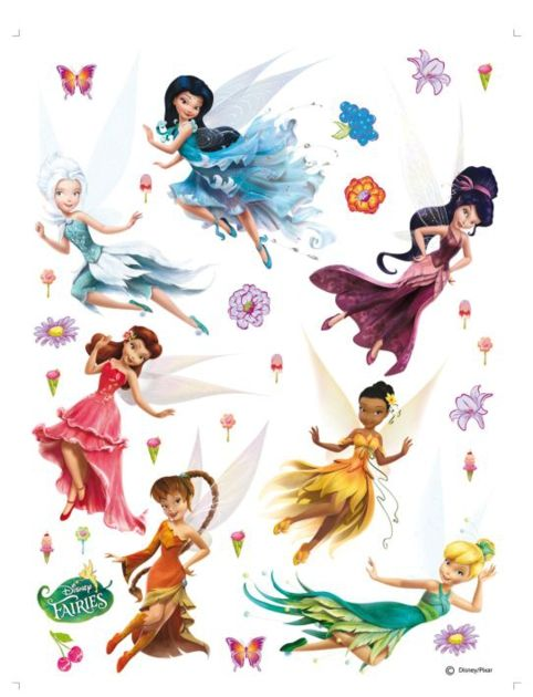fairies-fee-clochette-stickers-DK1769