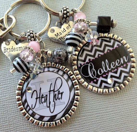 Maid of honor gift bridesmaid gift  PERSONALIZED by buttonit, $19.00