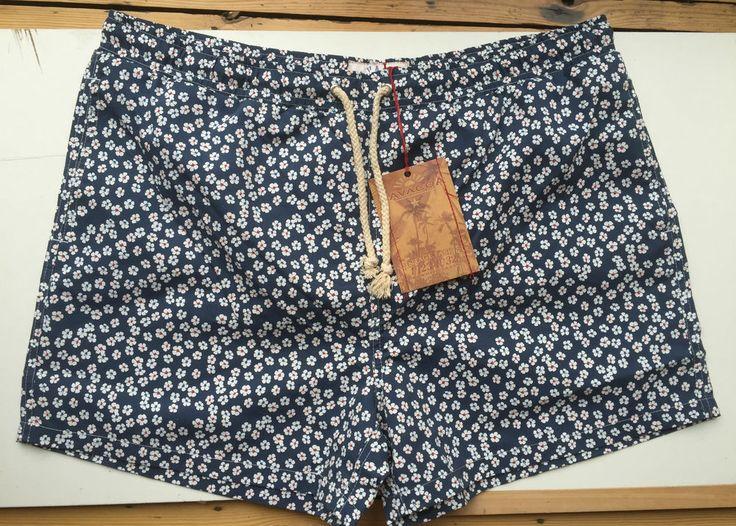 Mens Havacoa Swim Shorts Surf  Blue Floral  XXXXL 4XL  Authentic New RRP£85