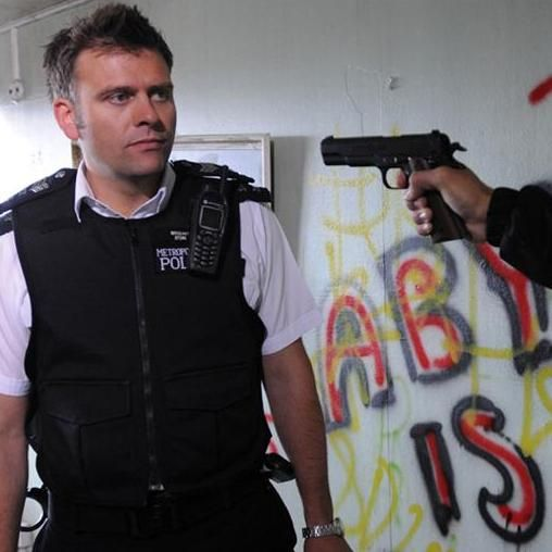 Hello Sgt Callum Stone! Sam Callis, the actor who played Callum Stone, was definitely the inspiration for my character. And yes, I stole the character name as well. #thebill  #samcallis #sgtcallumstone #lifeanddeathadventuresinlondon