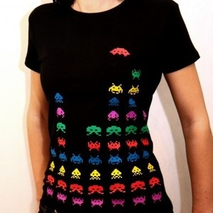 Space invaders shirt