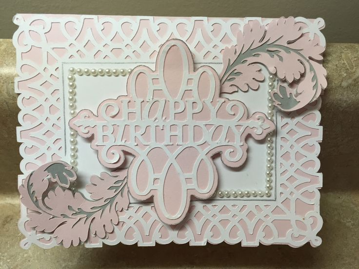 Made with Anna Griffin Elegant Embellishments and Paper Lace cricut cartridges.