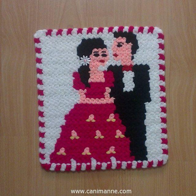Crochet for Bathroom..Gelin damat Lif Örnekleri