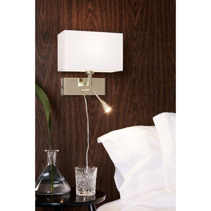 Applique Avec Liseuse Design E27 Savoy Metal Laiton Blanc 2 Markslojd Lampe Laiton Lumiere