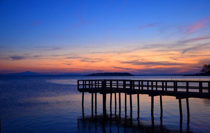 #tramonto #lake