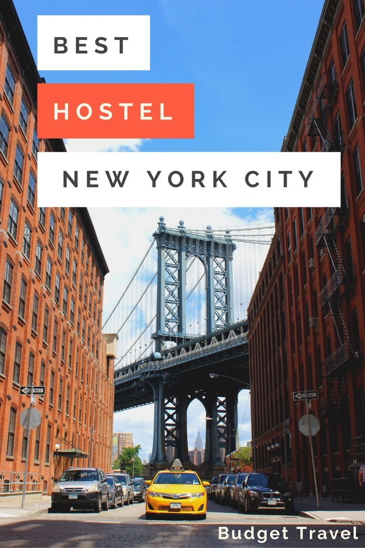 Want to visit NYC on a BUDGET? Here are the best hostels to stay in so you spend your precious travel dollars experiencing the City that Never Sleeps!