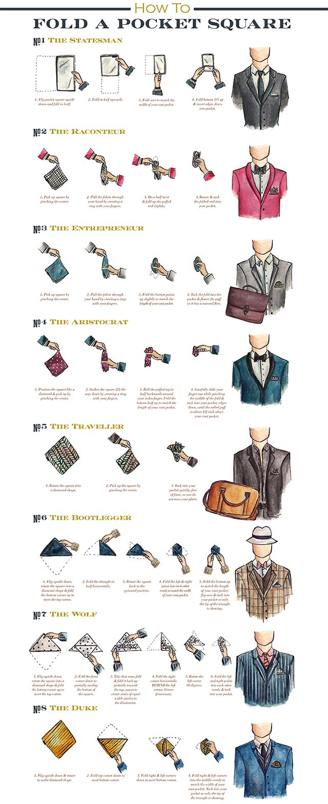 Hey friends, back with another installment of the Radley Raven  How To Series! Who knew there we so many ways to fold a pocket square! ...