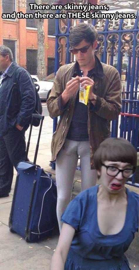 Skinny Jeans...WOW!