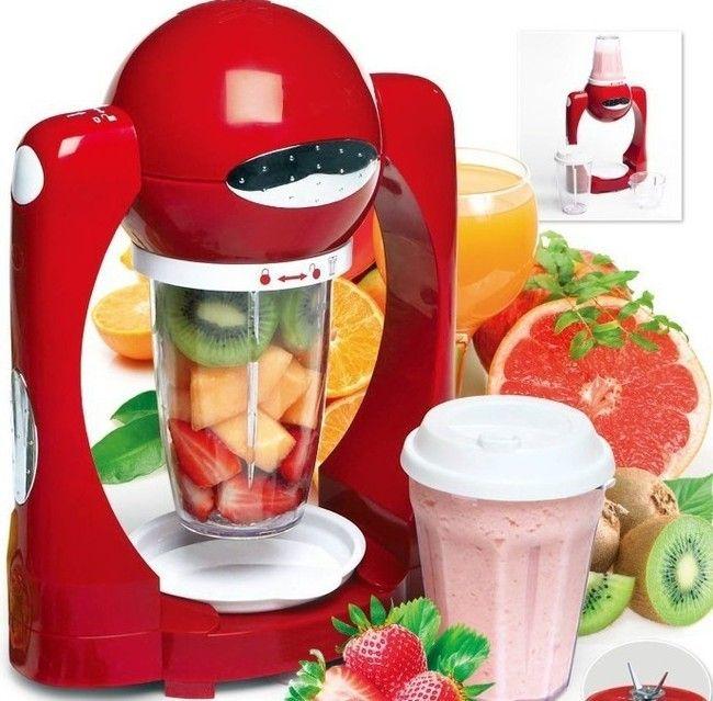 Smoothie Maker Machine Juice Milkshake Mixer Mini Ice Blender Fruit Juicer