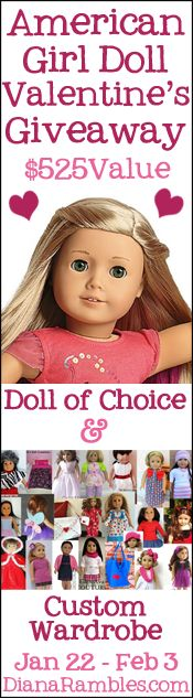 American Girl Doll Giveaway at 2 Crochet Hooks!