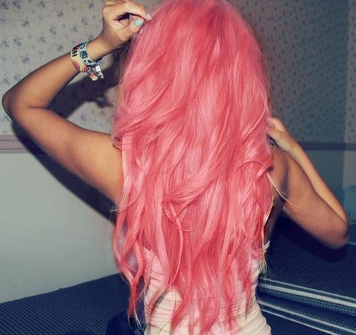 Wow! Lots of pink hair!