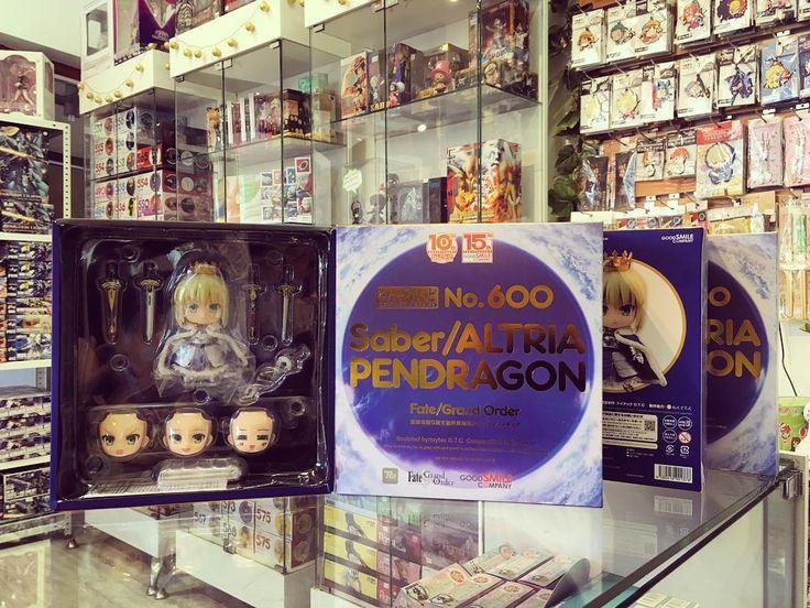 Ya llegó a #Zaitama el especial Nendoroid 600!  Saber/Altria Pendragon que conmemora los 15 años de GoodSmileCompany y los 10 años de Nendoroid!! Revisa sus detalles en nuestra tienda online www.zaitama.com