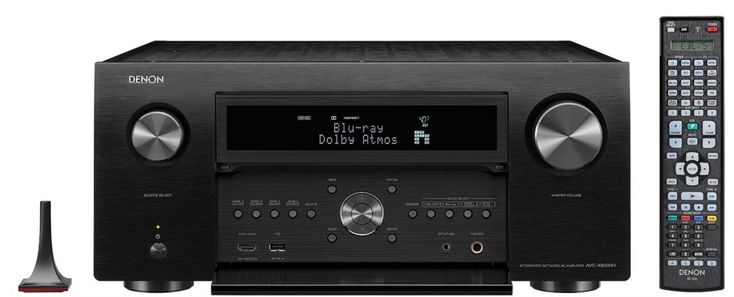 HIFI NEWS: Denon AVC-X8500H 13 Channel Amplifier. The first AV-Amplifier Denon has released since its AVC-A1HDA back in 2009, the VC-X8500H features Dolby Atmos, DTS:X and Auro 3D surround decoding with 13 channels of built-in amplification to enable 3D surround sound up to 7.2.6 without external amplification