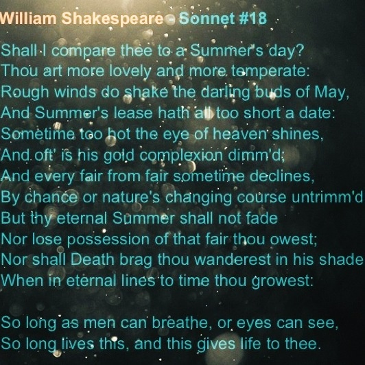 a comparison of sonnet 6 by samuel daniel and sonnet 130 by william shakespeare The first two lines of idea sonnet 6 contrast with the opening of samuel daniel's delia 46 by the contrast between complaint against which kind of mistresses praised in others' poetry: (a) contemporary urban vs fantastically archaized (b) aristocratic vs commoner (c) warmly affectionate vs coldly distant (d) foreign vs native.