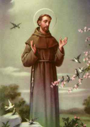 St Francis of Assisi - Christian mystic who founded new order committed to essence of Christian gospels.