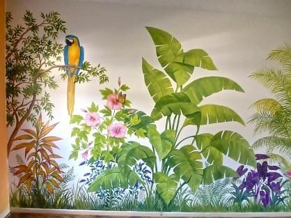Tropical Wall Murals   Google Search