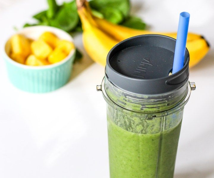 Detox Green Smoothie mit Chia-Samen – Ally's Cooking   – weight loss smoothies