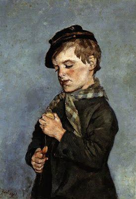 Περικλής Πανταζής (1849-1884), Το παιδί με τη σβούρα.