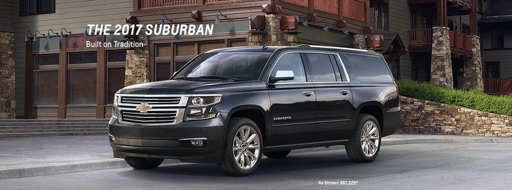 2017 Suburban Large SUV