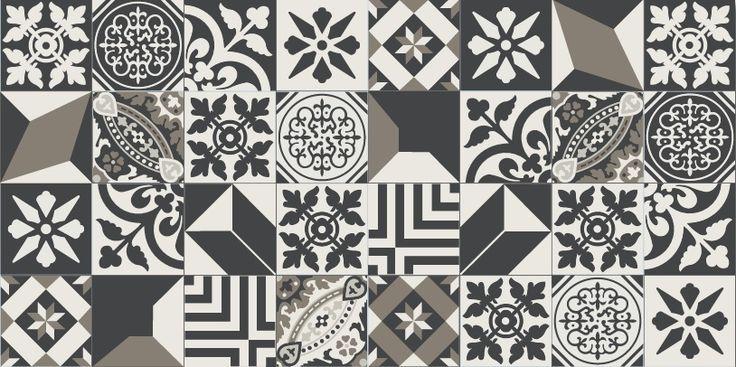 Patchwork tile by Winckelmans - Herbeć® - imagine as backsplash or floor