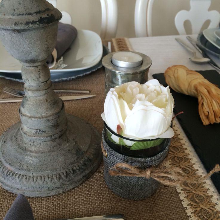Gri Keten/Hasır ipli Mumluk http://www.designstatehome.com/gf~u~gri-keten-hasir-ipli-mumluk