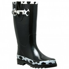 simply cute rain boots cow print | Cow Love | Pinterest | A cow