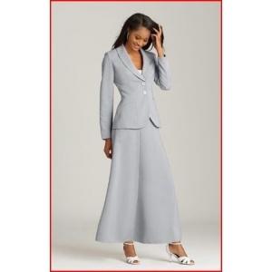 Flowing Skirt Suit