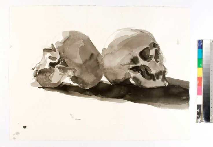 Two Skulls | Ben Quilty