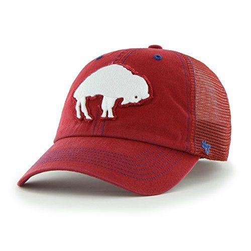 NFL Buffalo Bills Flexbone Closer Stretch Fit Hat LargeXLarge Red ** You can get more details by clicking on the image.