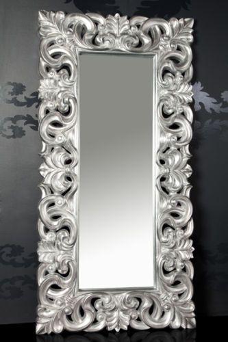 Details Zu XXL Wandspiegel Spiegel Repro Barock Antik Rechteckig  Replike180x90 A.Silber WOW. DecorationLive