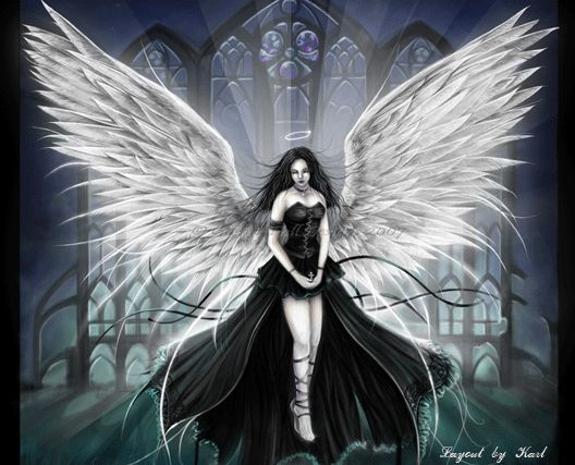 Gothic Fairy. Love the overall design, but would prefer with a fiercer stance and a sword...
