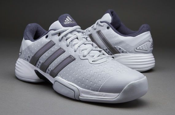 Mens adidas #barricade team 4 #tennis #trainer indoor grey uk sizes 7.5 - 10.5 ne,  View more on the LINK: http://www.zeppy.io/product/gb/2/192013039492/
