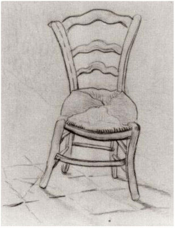 Vincent van Gogh: Chair. Drawing. Saint-Remy, March-April, 1890.  Amsterdam: Van Gogh Museum.