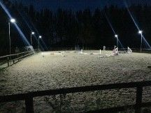 Solar Powered lighting for Arenas and larger outdoor areas.  This fabulous new system brings bright light to outdoor arenas, paddocks and parking areas.  No fiddly installation.  Illuminate your outdoor school, indoor working area, flood light your car park, or paddocks!  All this can be done with these amazing new Arena Lights which bring bright lights at zero running cost.  UK designed product, great back... http%3A%2F%2Fwww.clippersharp.com%2Fblog%2Fsolar-powered-arena-lighting