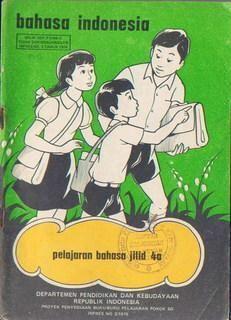 Cover buku Bahasa Indonesia featuring Keluarga Budi :-) (gambar ditemukan di salah satu forum kaskus)