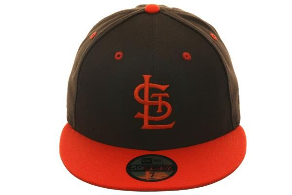 new style 4b34f 62b23 Exclusive New Era St. Louis Browns Hat - 2T Brown, Orange