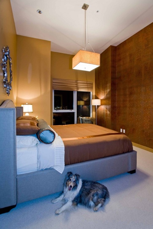 contemporary home office angela todd. Copper Wall Luster Of The Pearl - Contemporary Bedroom Other Metro Angela Todd Designs Home Office O