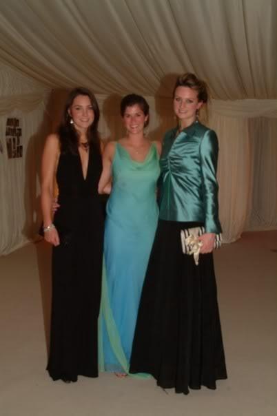 May 2005: St. Andrews Summer Ball, with Meghan Gunderman & Bryony Daniels (Fife, Scotland)