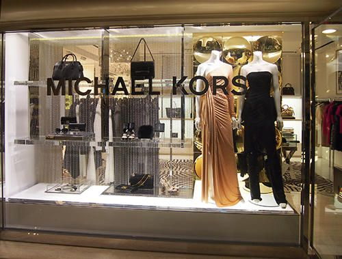 Michael Kors Windows Display