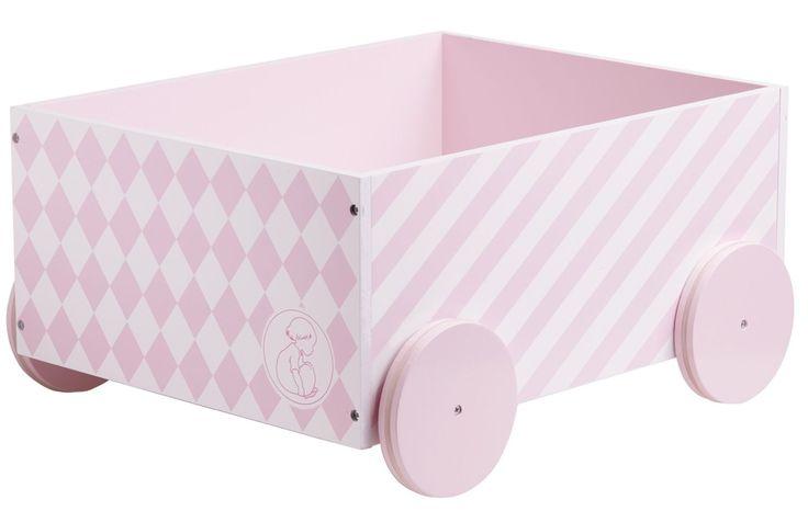 Kids Concept Förvaringslåda Barnkammaren, Rosa är en snygg och praktisk förvaringslösning till barnrummet. Förvaringslådan är i ljusrosa färg med fina dekorativa motiv. Dessutom har lådan 4 hjul vilket gör att man lätt kan flytta runt den. Passar perfekt till förvaring av kläder, leksaker och andra föremål. Förutom dess användbarhet är den också en snygg inredningsdetalj. Denna fina och inspirerande kollektion är ett samarbete mellan Kids Concept och Bonner Carlsen för att fira…