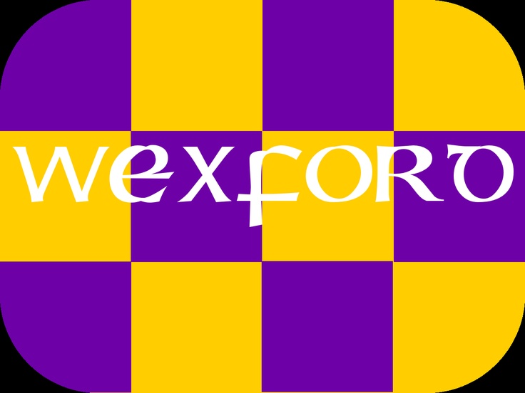 Wexford GAA county colours in a tattoo! The perfect size for the face, neck, arm or wrist.
