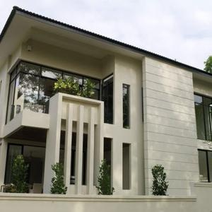 Verticality In Modern Residential Architecture Displayed By Lotus House: Residential Architecture, Lotus House, Houses, Modern Residential, Modern Building, White Architecture, Architecture Display, White House, Modern Design