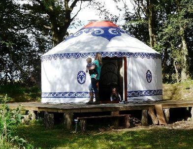 Woodland Yurts and Skills, Glamping Billingshurst, West Susex