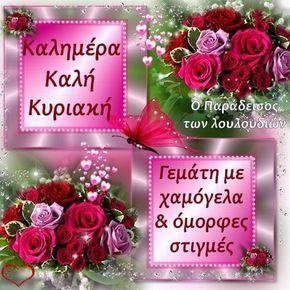 Фото: Καλημέρα και καλή Κυριακή να έχετε φίλοι μου. Με υγεία και όμορφες στιγμές εύχομαι!!