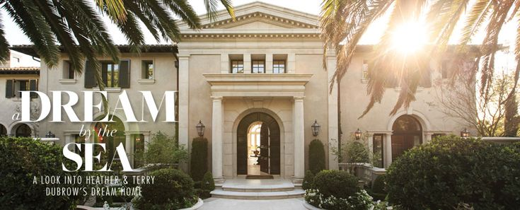 Heather Dubrow S Former Home A Grand Entrance Doors