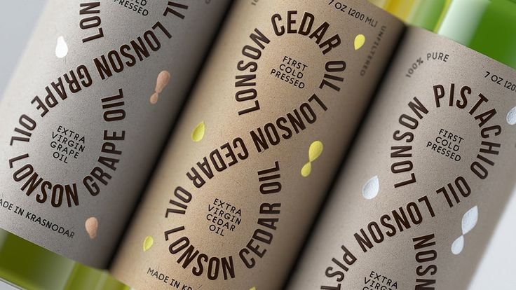 Lonson Oil packaging by Soyuz ² http://mindsparklemag.com/design/lonson-oil-packaging/