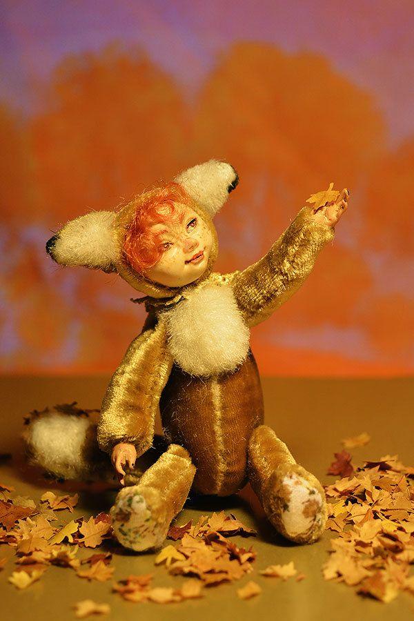 Teddy-doll Foxy by Galchi on Etsy