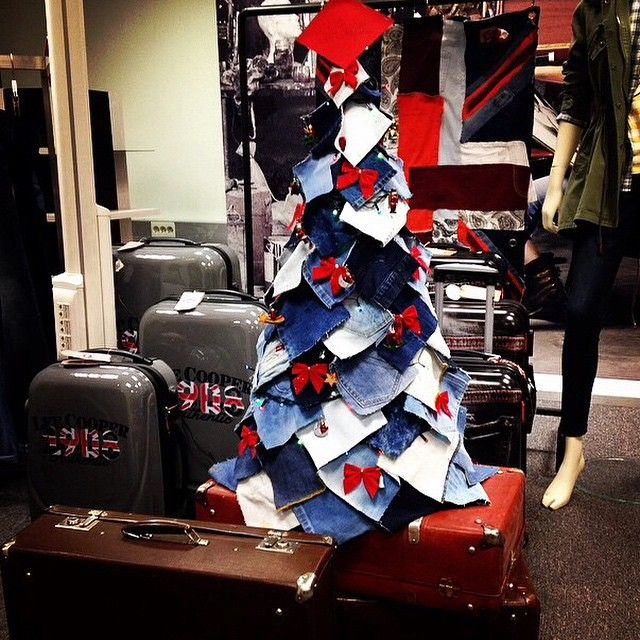 Loving this from our fans around the world. It's nearly Christmas!!#LeeCooper #denim #christmastree